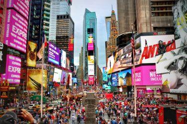 タイムズ・スクエアの歩行者天国が10周年