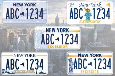 みんなで決めよう!ニューヨーク州の新しいナンバープレート