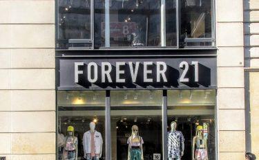 Forever 21が破産申請の準備中?!
