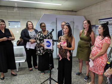 MTAがペン・ステーション駅に新しく「授乳ポッド」を設置