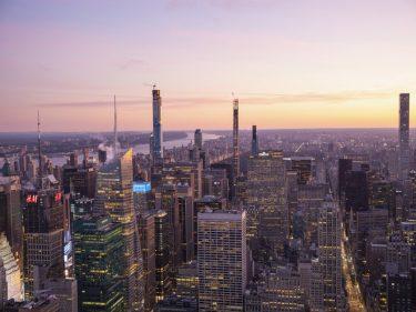 建設中のセントラルパークタワー、世界で最も高い住宅ビル
