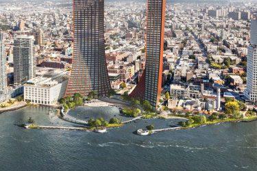 ウィリアムズバーグに新しくウォーターフロントパークと2つの巨大タワーが建設される?