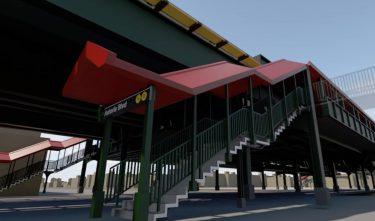 クイーンズのアストリア・ブルバード駅が再オープン