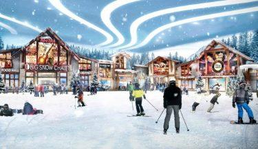 壮大な屋内スキー&スノーリゾートがニュージャージーのアメリカン・ドリーム・モールにオープン!