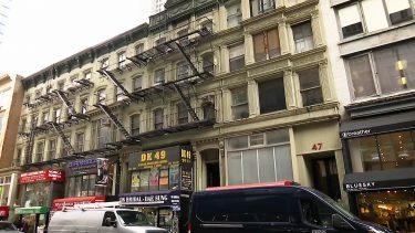 ティン・パン・アレーの建物がニューヨークの歴史的建造物に指定