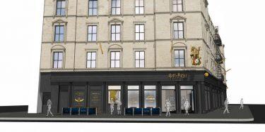 大規模なハリー・ポッター・オフィシャル・ストアが、2020年夏にオープン