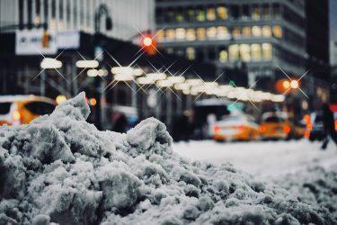 今週末のニューヨークは、今冬最大の寒波と雪
