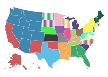 各州の住人はどの州が嫌い?