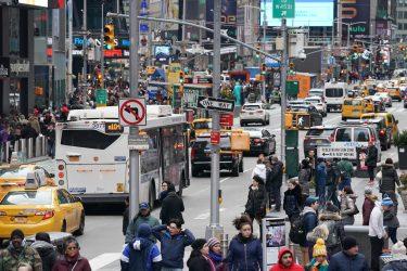 ニューヨークで最初の新型コロナウイルス感染者を確認
