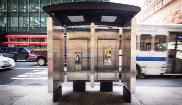 マンハッタンの公衆電話が今月中に全て撤去予定