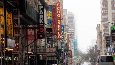 ブロードウェイの劇場閉鎖は、6月7日まで延長