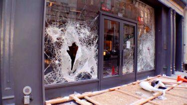 ジョージ・フロイド問題の抗議活動が略奪行為へと悪化