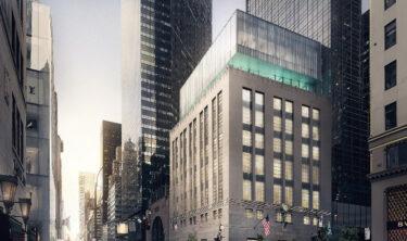 ティファニーが5番街の店舗の新しい外装の計画を発表