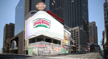 クリスピー・クリーム・ドーナツのフラッグシップ店が来月タイムズスクエアにオープン