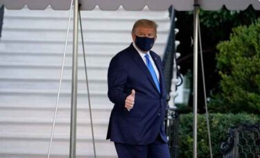トランプ大統領がCOVID-19陽性
