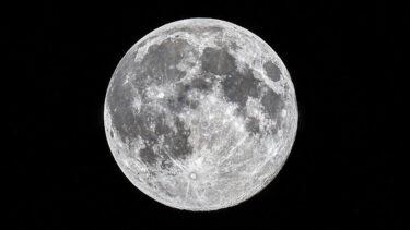 今年のハロウィンは満月