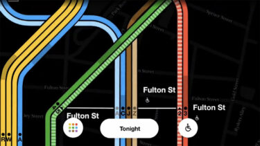 MTAがリアルタイム地下鉄マップを発表