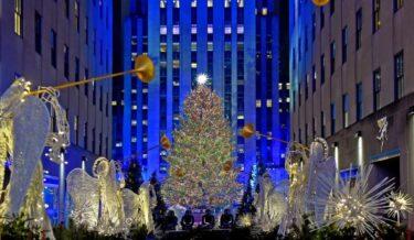 今年のロックフェラー・センターのクリスマスツリーの鑑賞はオンライン予約が必要