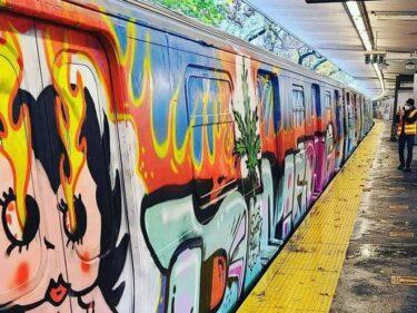先週末だけで24台もの地下鉄車両にグラフィティが描かれる