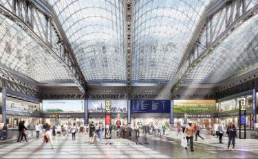新しいモイニハン列車ホールの列車運行が1月1日から開始