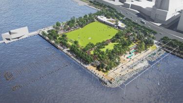 ミートパッキング地区にマンハッタン初の公共ビーチを含む再開発プロジェクト