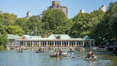 セントラル・パークの象徴的なローブ・ボートハウスが営業再開