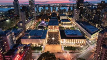 4月にリンカーン・センターに巨大な屋外舞台芸術センターがオープン