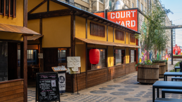 インダストリー・シティに、伝統的日本家屋風の屋外ダイニングがオープン
