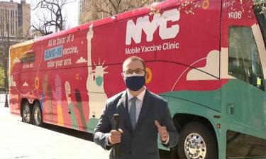 ニューヨーク市がワクチン接種バスの計画をスタート