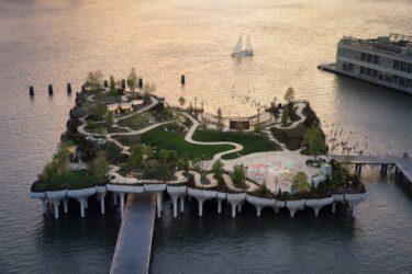 フローティングパーク「リトルアイランド」がオープン